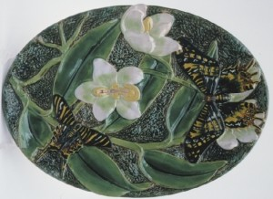 George_Jones_Butterfly_Dressing_Tray
