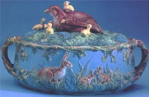 George_Jones_Game_Dish_with_Quail_and_Chicks