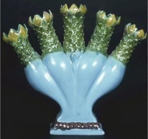 Minton_Tulipiere_Figural_Vase