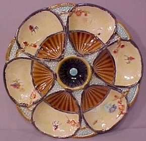 S_Fielding_Fan_and_Insect_Oyster_Plate