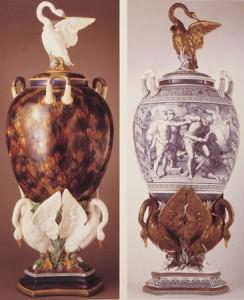 Wedgwood_Three_Swan_Vases
