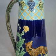 Fox and grapes pitcher