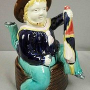 Isle of Man three-legged sailor teapot