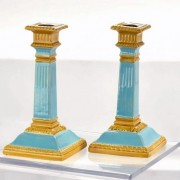 William Brownfield classical column candlesticks