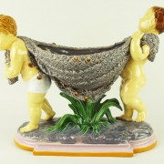 Putti flower holder