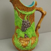 Grape and fern pitcher