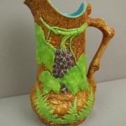 Grape and fern pitcher