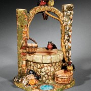 Clement Massier bird wishing well