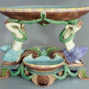 Copeland Grecian maidens table center