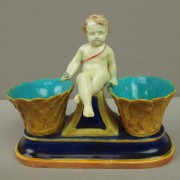 Putti double salt server