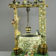 Delphin Massier bird wishing well