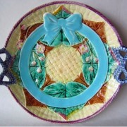 Bow and Floral tray