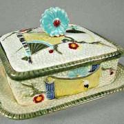 Fan and Scroll argenta sardine box