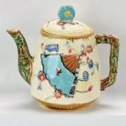 Fan and Scroll teapot
