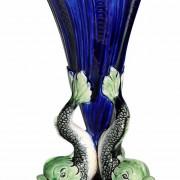Dolphins vase