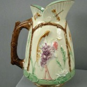 Heron and dragonfly pitcher