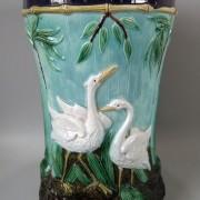 Storks garden seat