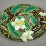 Butterfly and orchid dresser tray