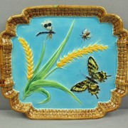 Butterfly and wheat tray