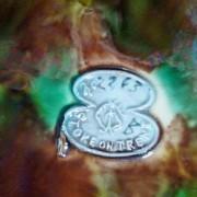 George Jones raised cartouche mark