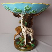George Jones giraffe fruit compote