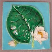 Pond lily tile