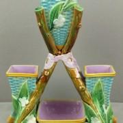 Triple posey vase