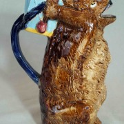 Bear with drum pitcher