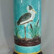 Stork and heron walking stick stand