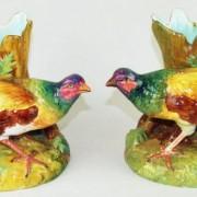 Jerome Massier pheasant vases