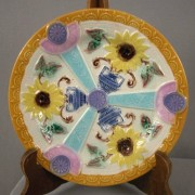 Sunflower and Urn plate