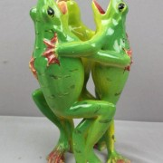 Massier dancing frogs vase