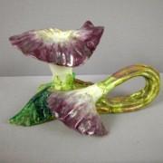 Massier iris chamberstick