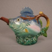"Minton ""Blowfish"" teapot"