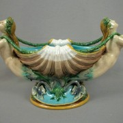 Minton mermaids and shell table center