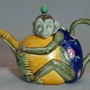 Minton monkey teapot