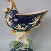 Minton naiad and shell table center