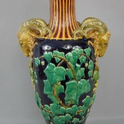 Minton rams head Queens vase