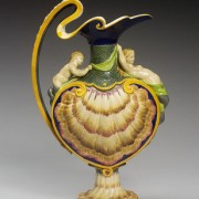 Minton shell ewer
