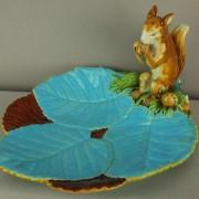 Minton squirrel nut dish