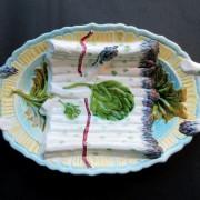 Asparagus and artichoke tray