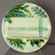 Asparagus napkin plate
