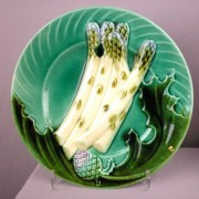 Asparagus and artichoke plate
