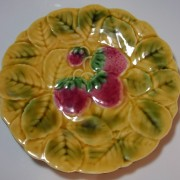 Strawberry fruit plate