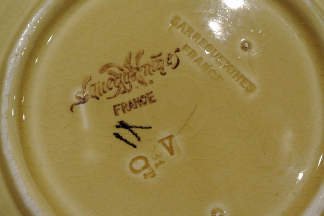 Dating sarreguemines pottery history