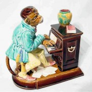 Monkey playing piano humidor