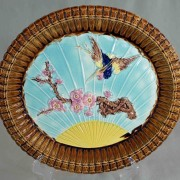 Bird and Fan bread tray