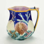 Ocean shell pitcher