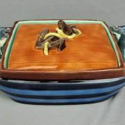 "Wedgwood ""Sardinia"" sardine box"