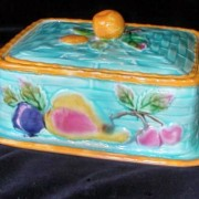 Wedgwood fruit sardine box